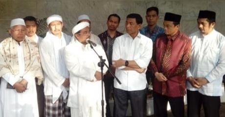 Tanggapi Permintaan Habib Rizieq, Wiranto: Nggak Ada Istilah Rekonsiliasi