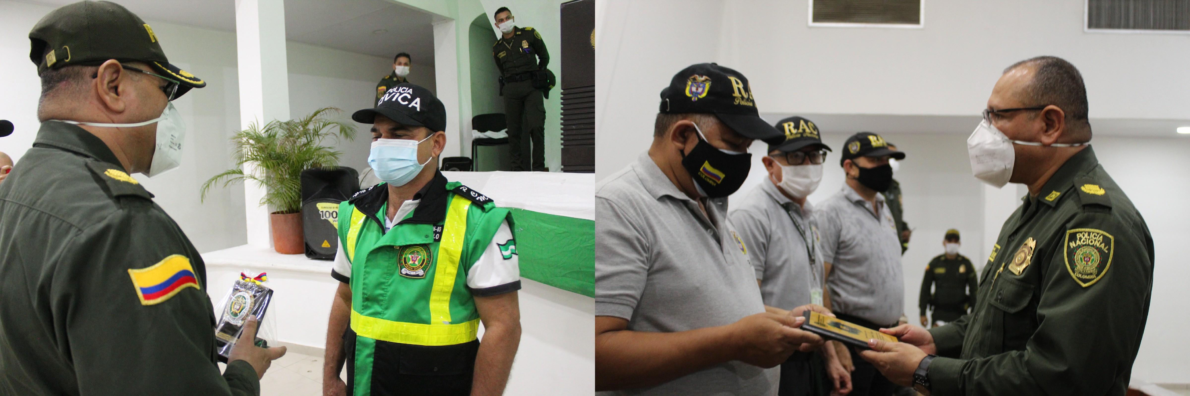 hoyennoticia.com, En Valledupar entregan reconocimiento a la Policía Cívica de Mayores, La red de Aliados y Líderes comunales