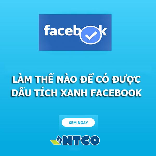 lam dau tich xanh facebook