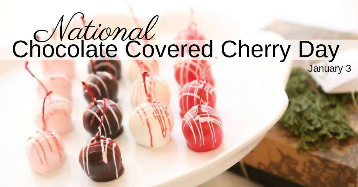 National Chocolate Covered Cherry Day Wishes Photos