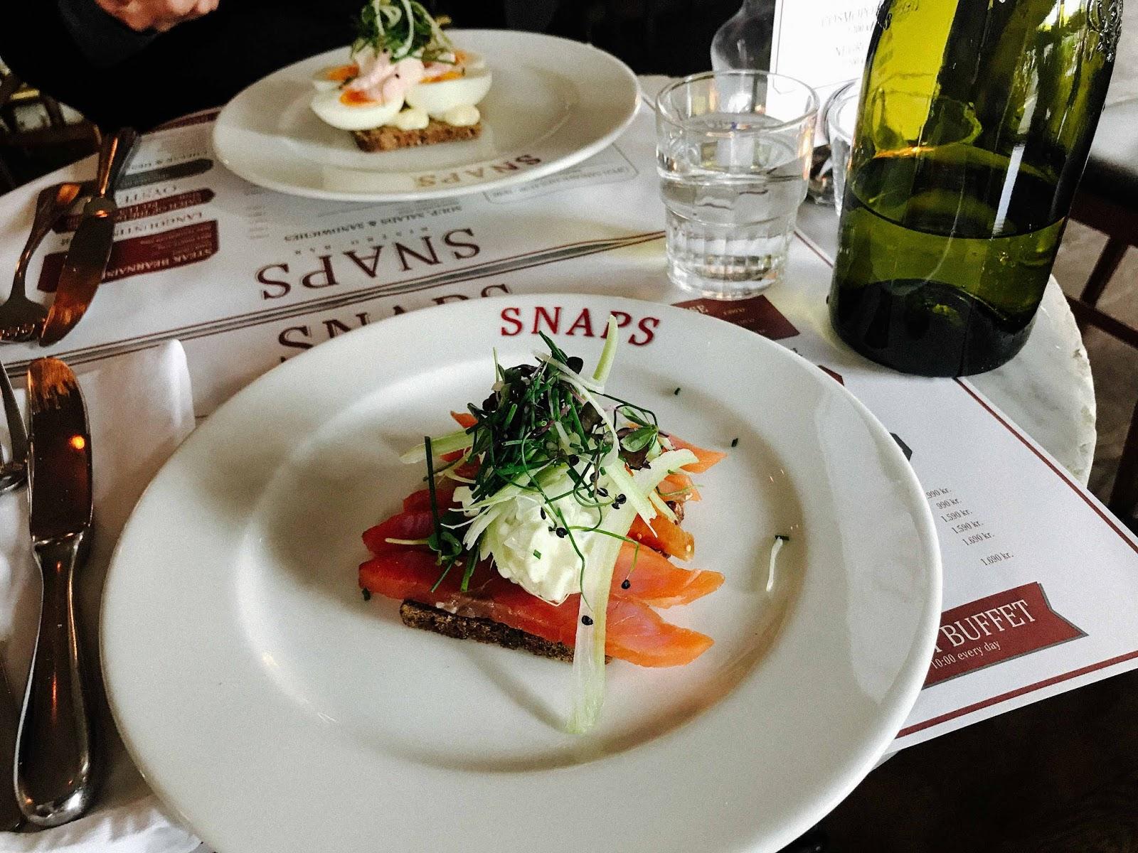 lunch in reykjavik at snaps travel blog