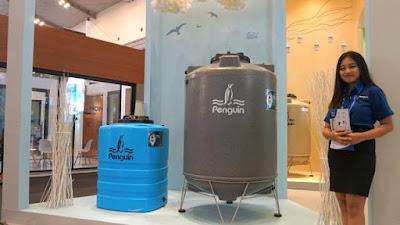Tangki Air Penguin Jenis Total Drain