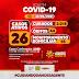 Jaguarari registra um óbito e 12 novos casos de coronavírus no Boletim desta terça-feira (22)