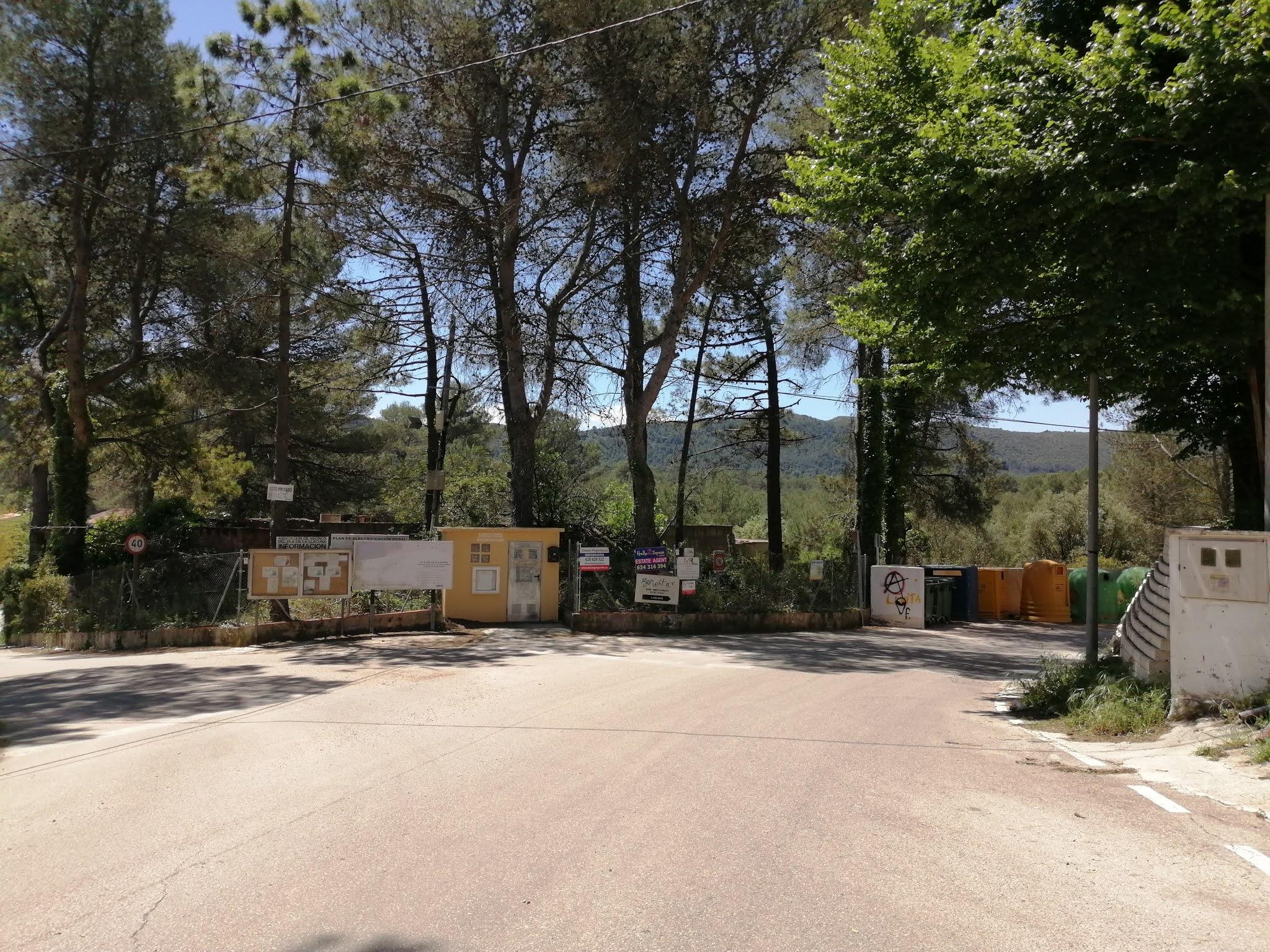 Entrance to la Llacuna, Valencia, Spain