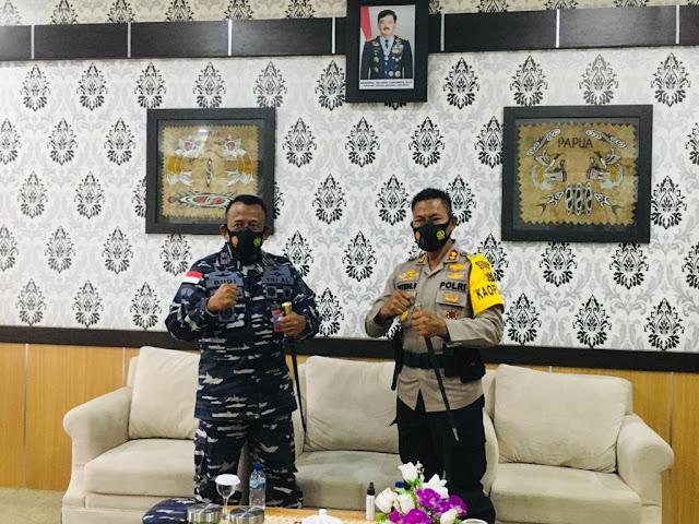 Untung Sangaji Jalin Silaturahmi Dengan Budi Purnama dan Herdy Arief Budiyanto