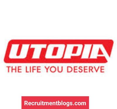 Multiple Vacancies At UTOPIA Pharmaceutical