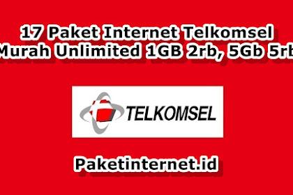 √ 17 Paket Internet TELKOMSEL 4G Murah 1GB 2rb, 5GB 5rb, 10GB 12rb