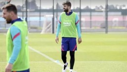 Pique and Sergi Roberto out of Real Valladolid clash