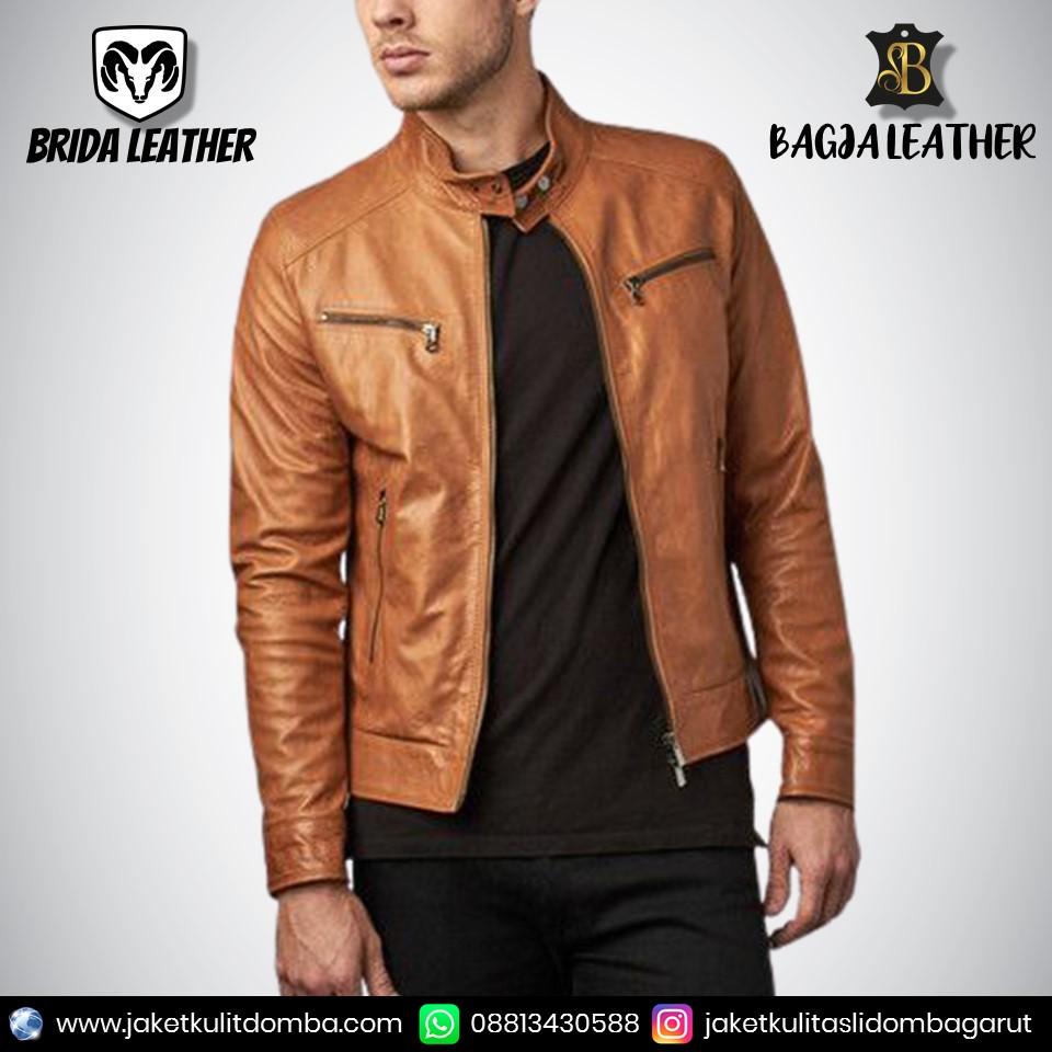 jaket kulit pacita asli