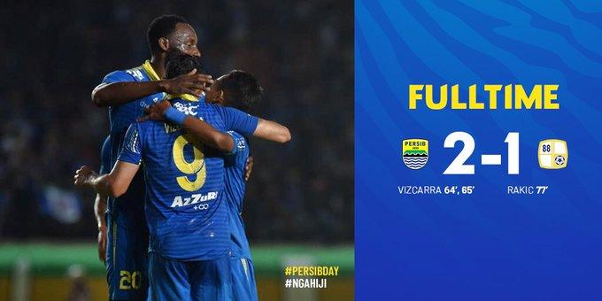 Persib Bandung vs Barito Putera 2-1