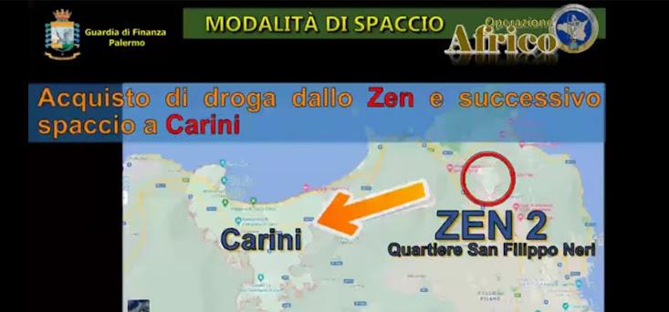 Palermo: smantellata rete di spaccio tra lo Zen e Carini