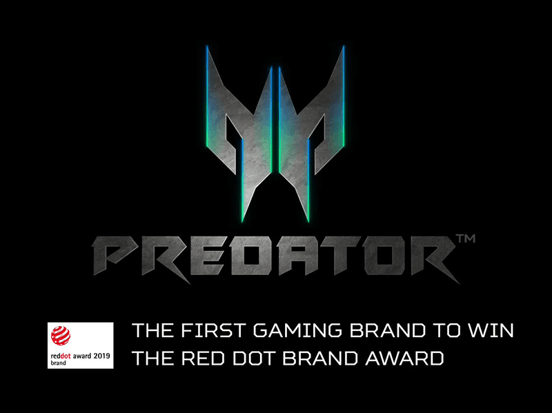 Predator is the first gaming brand to win Red Dot Brand award