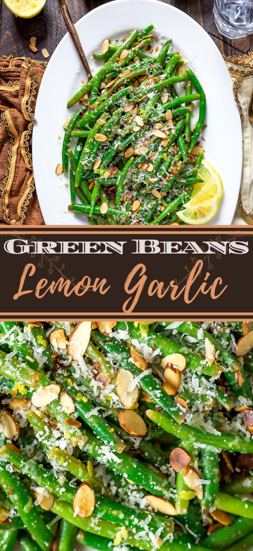 Lemon Garlic Green Beans #vegan #vegetarian #soup #breakfast #lunch