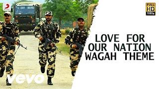 Wagah – Love for Our Nation Wagah Theme Song _ Vikram Prabhu, Ranya _ D. Imman