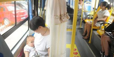 Fasilitas Bus Bagi Ibu Menyusui