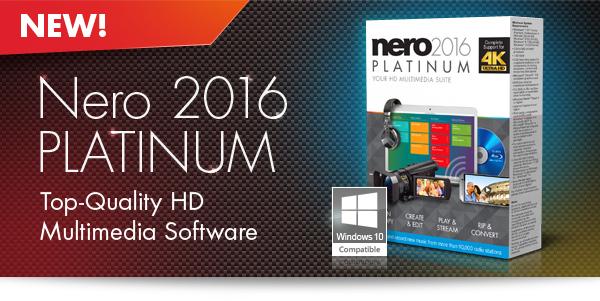 Nero 2016 Platinum 17.0.04000 Full Crack download free 2016