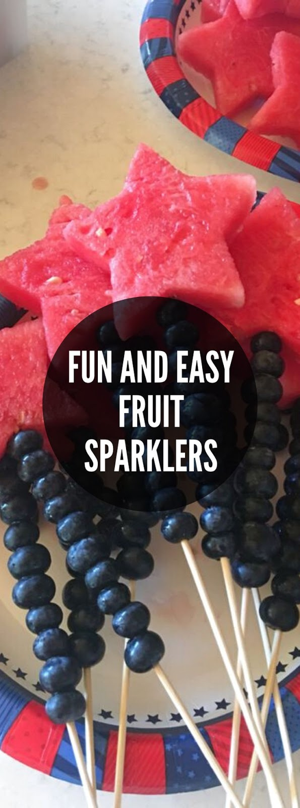Fun and Easy Fruit Sparklers