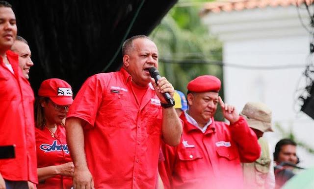 Diosdado Cabello comparó los voluntarios de Guaidó con milicianos chavistas