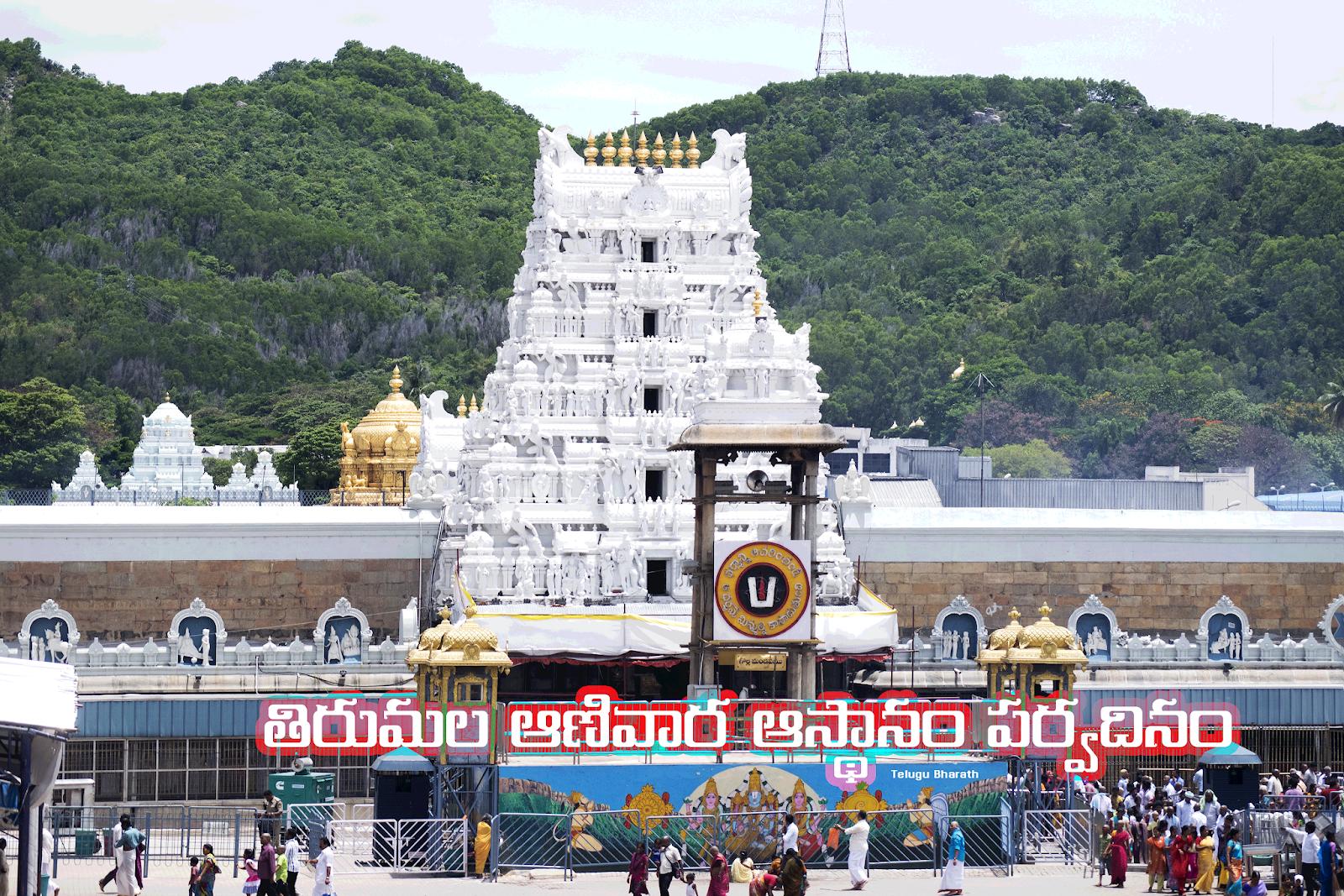తిరుమల ఆణివార ఆస్థానం పర్వదినం - ANIVARA ASTHANAM AT SRIVARI TEMPLE