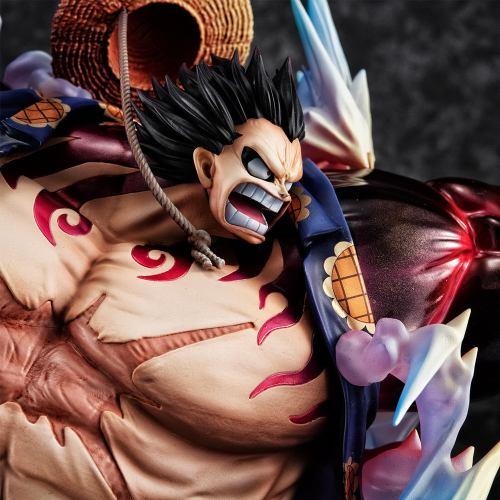 One Piece – Monkey D. Luffy Gear 4 [Boundman] Ver.2 Portrait.Of.Pirates SA-MAXIMUM, Megahouse