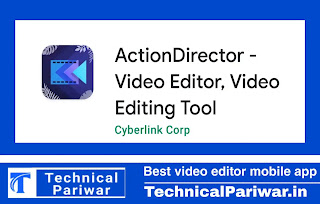 Action director video editing mobile app