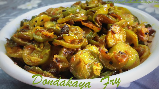 dondakaya fry andhra style