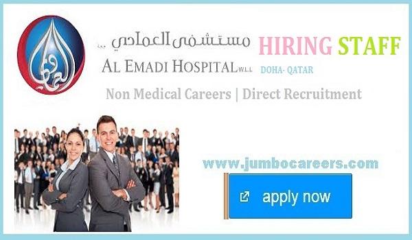 Al Emadi Hospital Qatar Non Medical Careers 2020