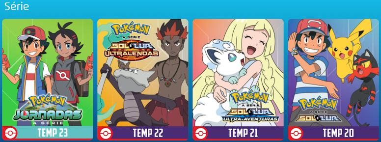 TV Pokémon Séries
