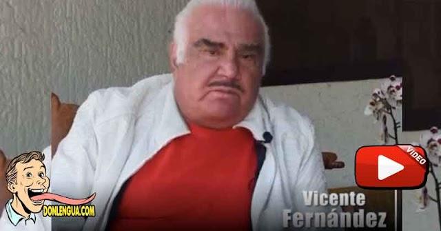 Vicente Fernandez pide disculpas por haber manoseado a una fanática