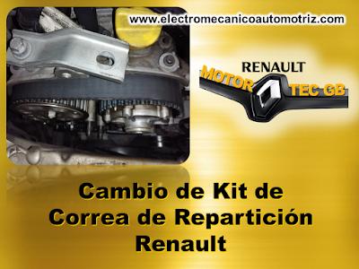 Cambio Correa de Reparticion Renault