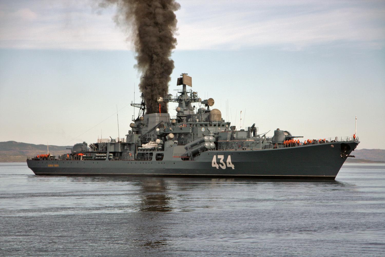 В Баренцевом море прошли учения Северного флота
