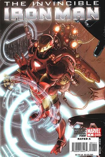 Iron Man con su armadura espacial