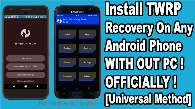 List Of Device Supports TWRP Officially ! How To Install Video