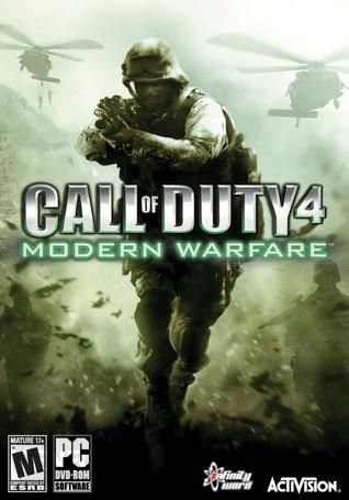 CALL OF DUTY 4 MODERN WARFARE Cover Photo