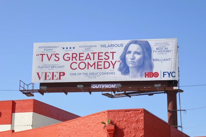 Veep final season 7 FYC billboard
