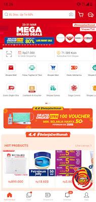 1. Langkah pertama untuk mencari harga termurah di Shopee, silakan kalian buka aplikasi Shopee dan ketik barang yang ingin di cari pada kolom pencarian