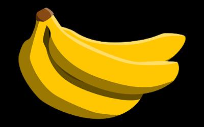 gambar clipart ilustrasi pisang cavendish