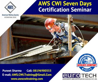 #AWS Certified Welding Inspector Training Course