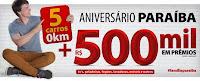 Promoção Aniversário Armazém Paraíba