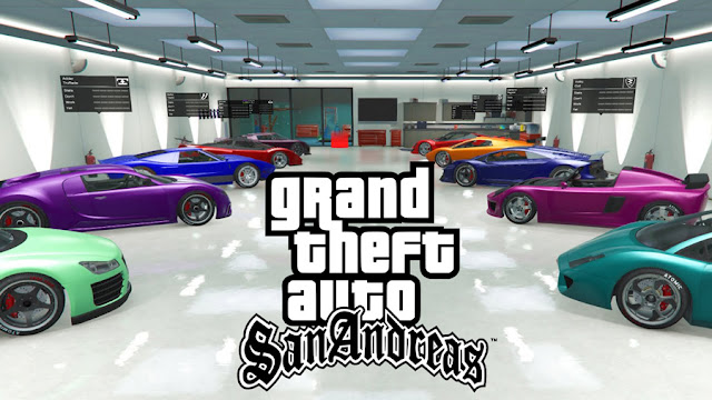 gta san andreas house with biggest garage mod