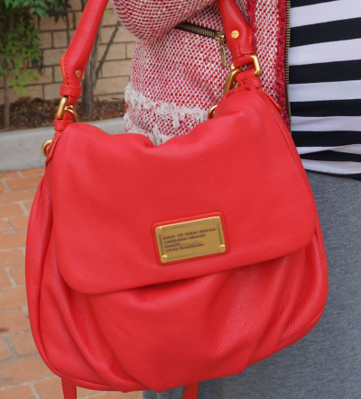 marc by marc jacobs little ukita bag rock lobster pink red