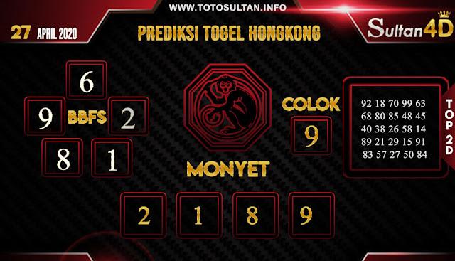 PREDIKSI TOGEL HONGKONG SULTAN4D 27 APRIL 2020