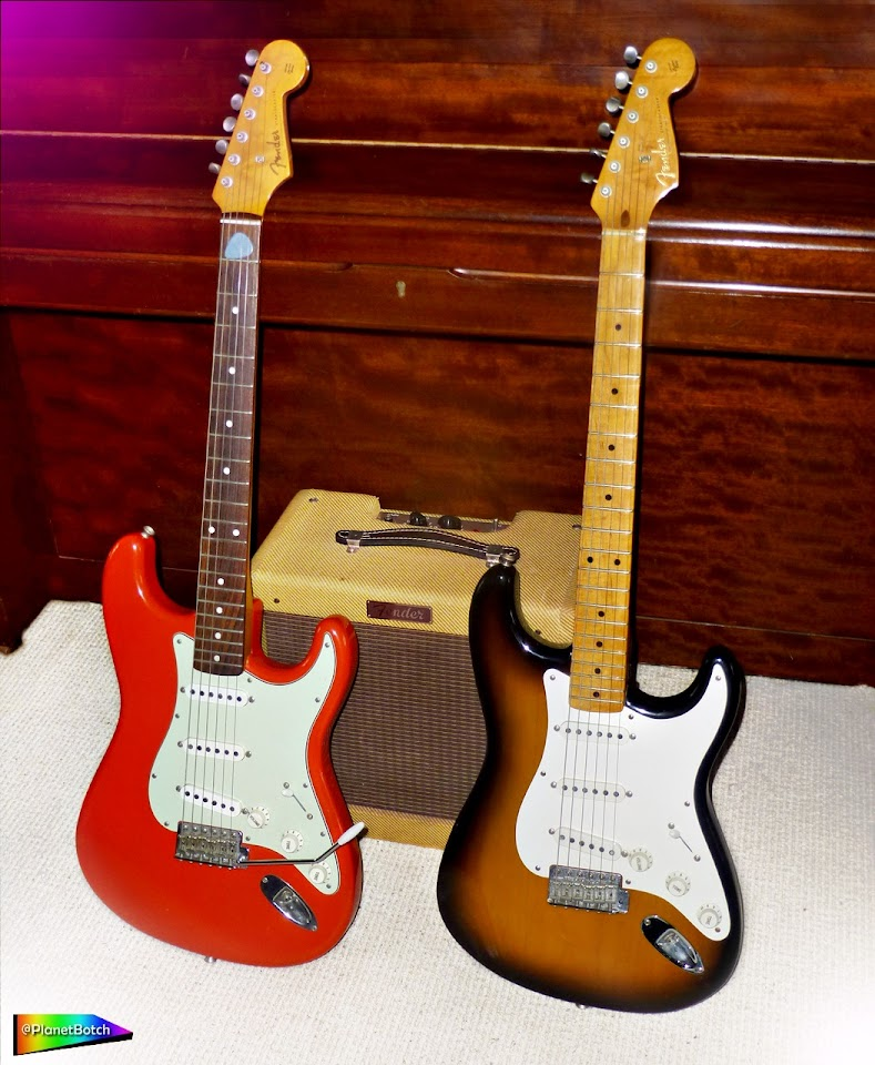 '62 and '57 Reissue Stratocasters