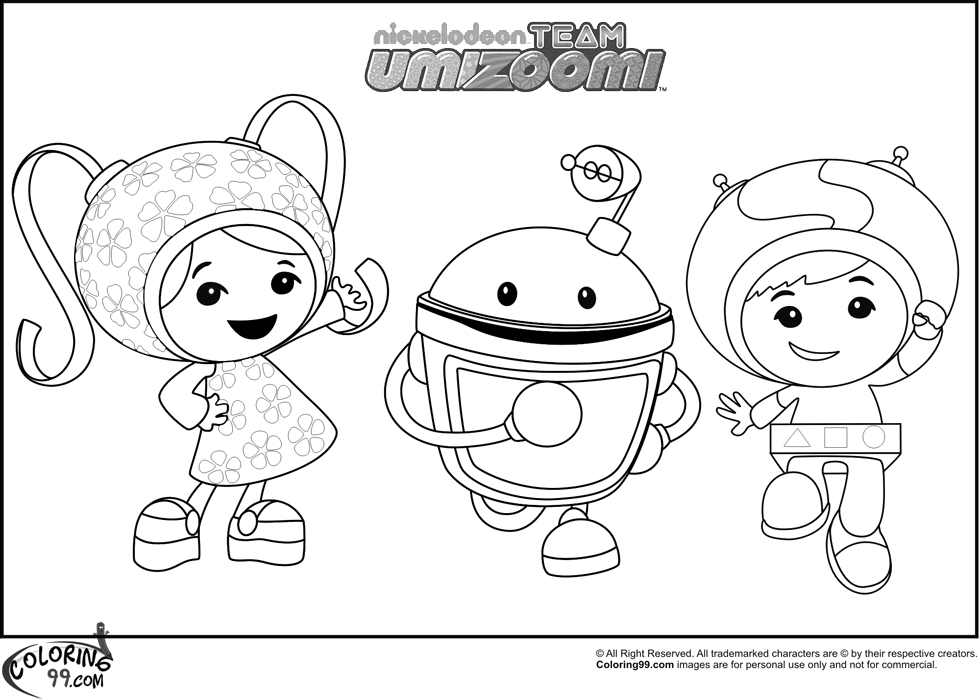 team umizoomi milli coloring pages - photo#24