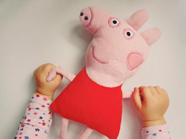 uszyłam Peppa Pig