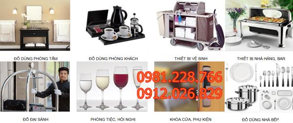 Lưu ý quan trọng cần phải nắm vững khi mua thiết bị, đồ dùng khách sạn