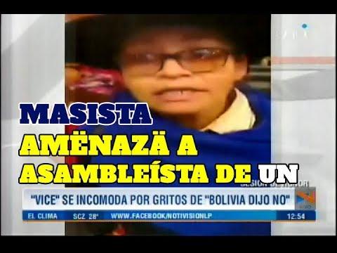 MASISTA AMENAZA CON SONAR A ASAMBLEÍSTA DE UNIDAD NACIONAL