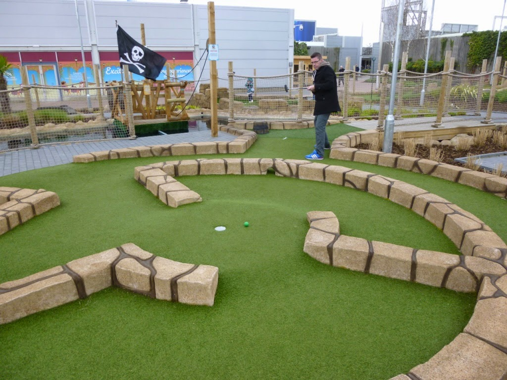 Pirate Island Adventure Golf at the Junction 32 Outlet Shopping Centre