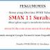 Daftar Ulang Tahap II PPDB SMAN 11 Surabaya