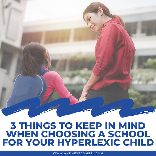 How to pick the right school for your child with hyperlexia